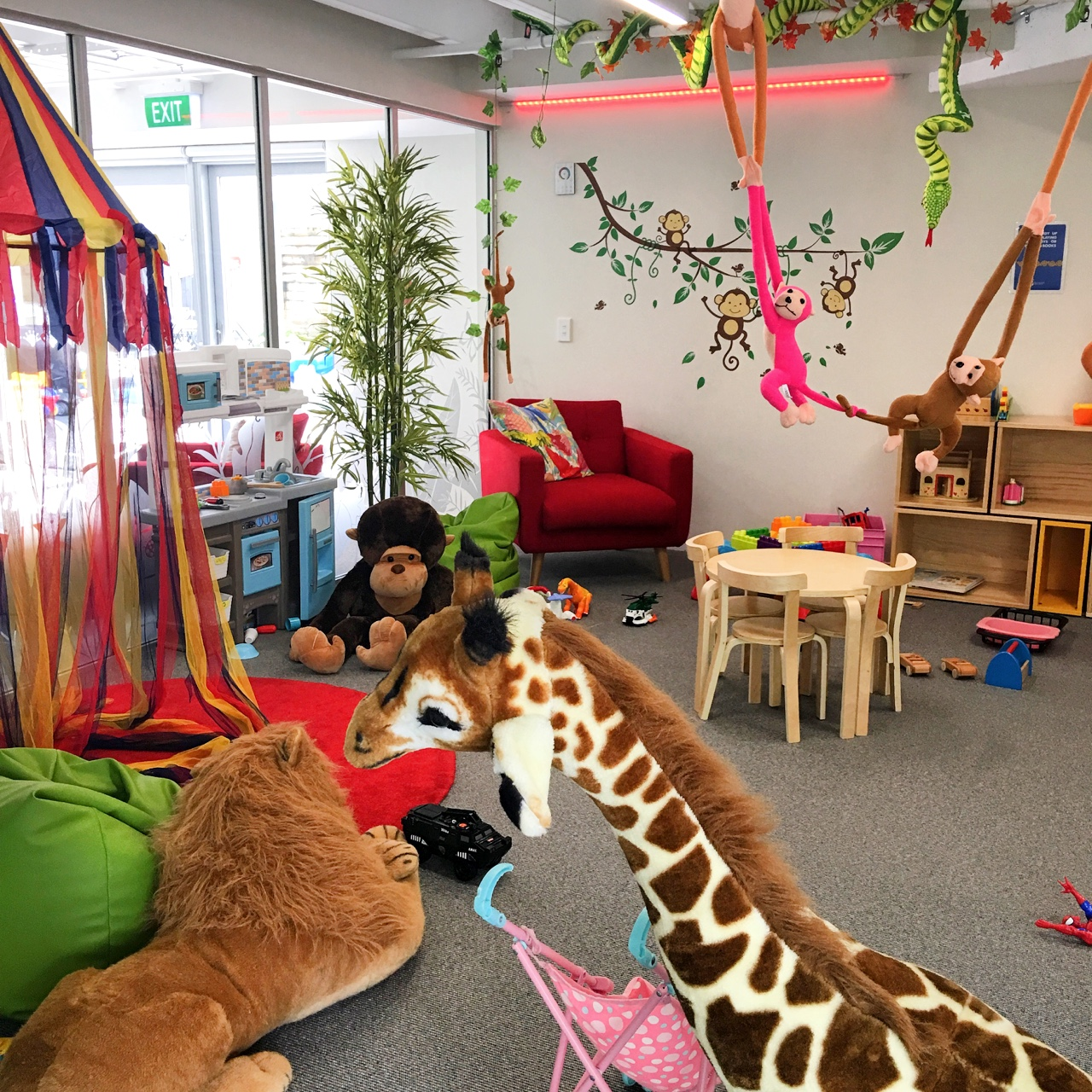 ronald mcdonald house childrens play room with toys