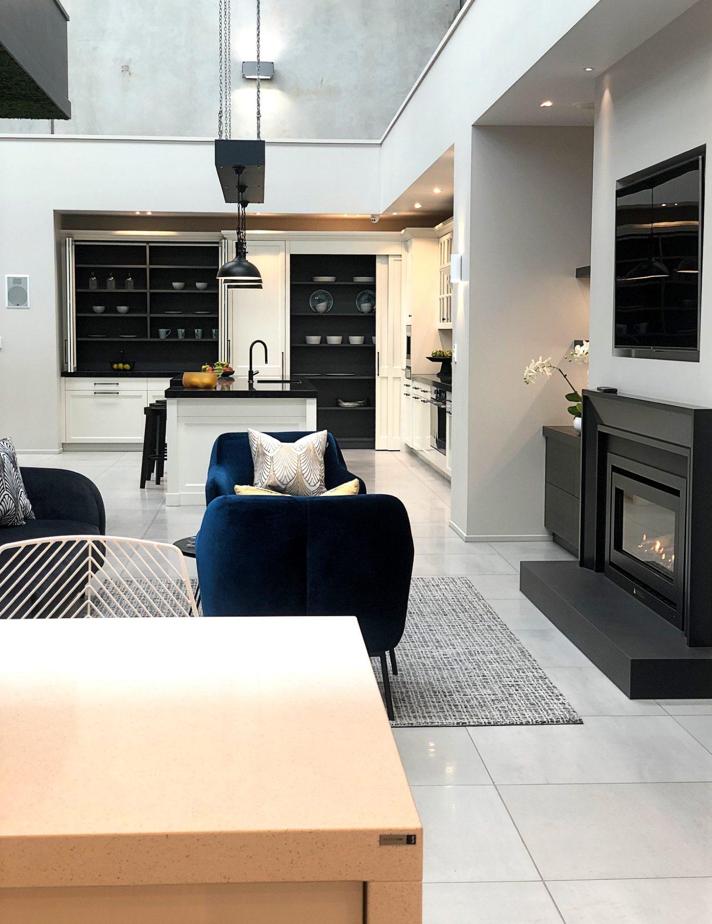 modern kitchen showroom