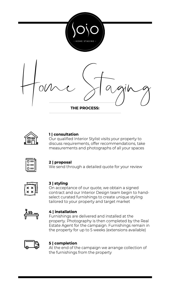 home staging process five easy steps