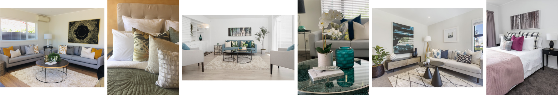 home staging modern contemporary colourful home styling bedrooms and lounges with designer accessories